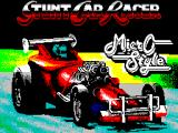 Stunt Track Racer ZX Spectrum Loading screen