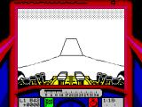 Stunt Track Racer ZX Spectrum Headed down main Ski jump