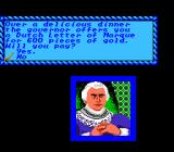 Sid Meier's Pirates! NES Talking to governor