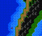 Susanoō Densetsu TurboGrafx-16 The world map has interesting shapes. Also, check out those enmies in the water! :)