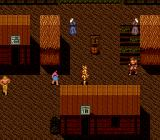 Susanoō Densetsu TurboGrafx-16 The village forms a shapr contrast to the city