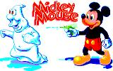 Mickey Mouse: The Computer Game Amstrad CPC Title screen