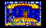 Mickey Mouse: The Computer Game Amstrad CPC Climbing a ladder to get away