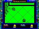 Vindicators ZX Spectrum Stars should be collected wherever they are found. They are important. Collect by driving over them. Get to them before your team mate
