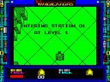 Vindicators ZX Spectrum Start of a single player game