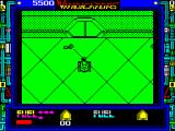Vindicators ZX Spectrum Having moved 'up' as far as its possible to go the player finds a key and a door. Is there a connection?