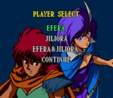 Efera & Jiliora: The Emblem From Darkness TurboGrafx CD Select your gal! :)