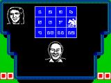 A Question of Sport ZX Spectrum The picture is revealed and she's got a horse racing question. All six team members get to choose a picture square like this.