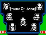 A Question of Sport ZX Spectrum Round 3 is the Home or Away round. Here team members are asked questions on their specialist subject, for 1 point, or a random subject for 2 points. David explains this via his text box