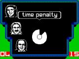 A Question of Sport ZX Spectrum This is the only place in the game where a penalty is given, two seconds are taken from the 45 allowed for an incorrect answer.