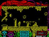 Mutan Zone ZX Spectrum Zapped by something that's off-screen! Dead again