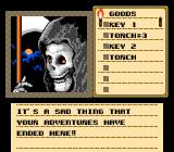 Shadowgate NES Adventure is over