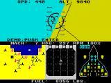 F-15 Strike Eagle ZX Spectrum Starting without a take-off
