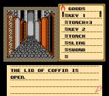 Shadowgate NES This is how the hallway looks when I entered it...