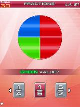 Brain Challenge Vol. 2: Stress Management J2ME Fractions Minigame