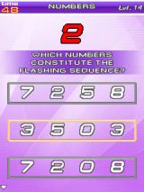 Brain Challenge Vol. 2: Stress Management J2ME Numbers Minigame