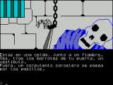 Jabato ZX Spectrum Screen 1. In a cell next to a deli.