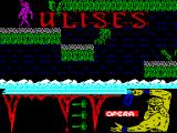 Ulises ZX Spectrum Later on this level there's some jumping to be done ...
