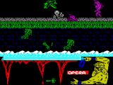 Ulises ZX Spectrum Any contact of any kind with a baddie is immediately fatal