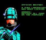 RoboCop 2 NES Your mission