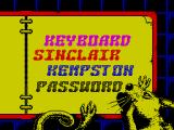 Pussy: Love Story from Titanic ZX Spectrum Then follows the game's menu screen. If keyboard is selected there is no option to redefine keys. Q / A move Leo up & down while Z / X move him left & right. SPACE triggers his punch