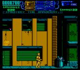 RoboCop 3 NES Starting the game