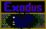 Exodus: Ultima III Amiga Demo screen