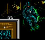 RoboCop 3 NES being repaired after having completed a level