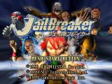 JailBreaker PlayStation Title screen