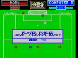 Subbuteo ZX Spectrum After an illegal move players can optionally be repositioned