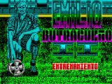 Emilio Butragueño 2 ZX Spectrum This screen displays while part 1 - the Gymnasium part of the game is loading