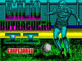 Emilio Butragueño 2 ZX Spectrum This screen is displayed as part 2, the Football Competition, loads