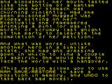 Ingrid's Back! ZX Spectrum Welcome text