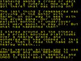Scapeghost ZX Spectrum Welcome and introductory text