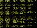 Scapeghost ZX Spectrum The prompt has changed.