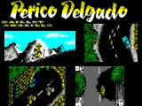 Perico Delgado Maillot Amarillo ZX Spectrum After the company logo the game's title screen is displayed while the game loads. The game waits at this screen until a key is pressed