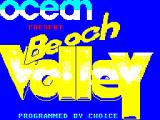 Beach Volley ZX Spectrum This screen is displayed as the game starts to load.