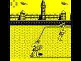 Beach Volley ZX Spectrum The first match is in London - just opposite Big Ben. Player is to serve and has the ball, the computerised team-mate is running away