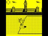 Beach Volley ZX Spectrum Serving is a combination of finding the right position, throwing the ball up, and timing the hit as it falls. Almost a game of skill in its own right