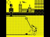 Beach Volley ZX Spectrum Opponents serve. The animation is quite good and detailed