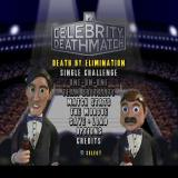 MTV Celebrity Deathmatch PlayStation Main menu.
