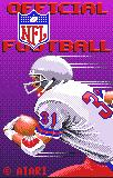 NFL Football Lynx Title screen