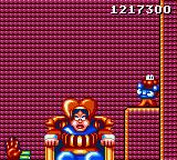 James Pond 2: Codename: RoboCod Game Gear Fighting the Queen of Hearts