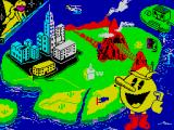Pac-Land ZX Spectrum Loading screen