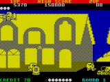 Pac-Land ZX Spectrum Didn't see that one coming!
