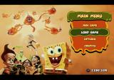 SpongeBob SquarePants Featuring Nicktoons: Globs of Doom PlayStation 2 Menu screen.