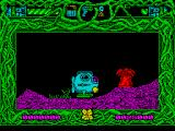 Rescue from Atlantis ZX Spectrum The game starts with a diving bell being lowered onto the sea bed. The game area is large and must be explored either in the sub or on foot