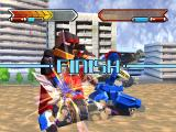 Gear Senshi Dendoh PlayStation Finishing off the Knight GEAR Orge
