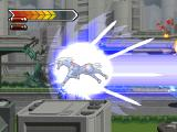 Gear Senshi Dendoh PlayStation Unicorn Drill in action during Beat-em-up part of level 2 ...