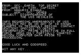 Star Trek: The Kobayashi Alternative Apple II The introduction